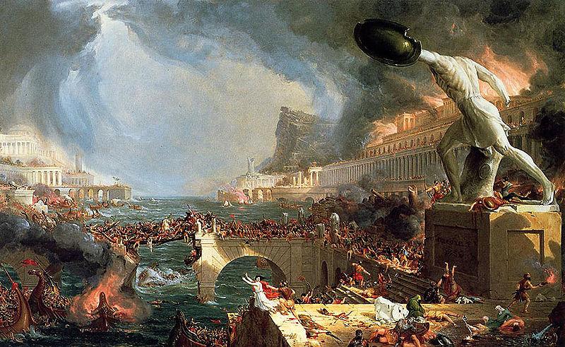 Riflessioni sulla FINE DELL'IMPERO ROMANO