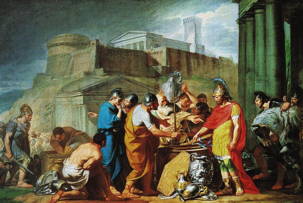 Il sacco Gallico e la costruzione delle mura repubblicane