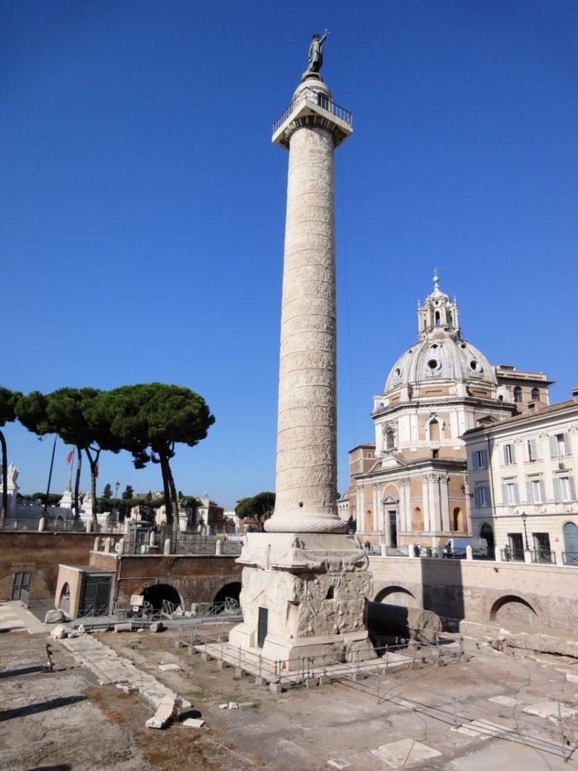 La Colonna Traiana nel Foro di Traiano: introduzione al monumento