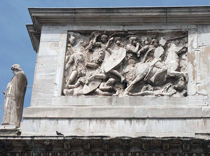 Il Grande Fregio Traianeo dall'Arco di Costantino