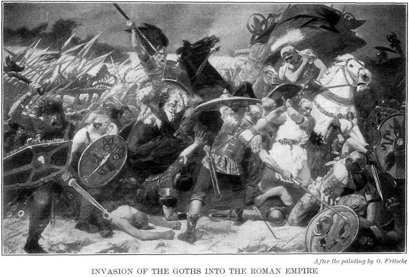 La battaglia di Adrianopoli. Migranti alle porte d'Europa.