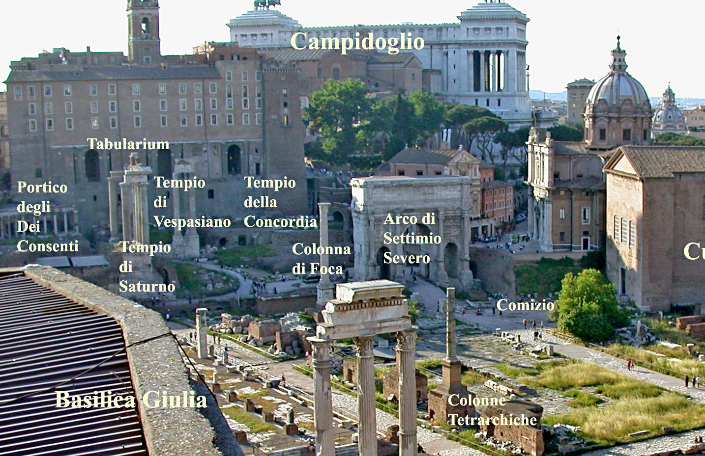 Il Tempio della Concordia Augusta