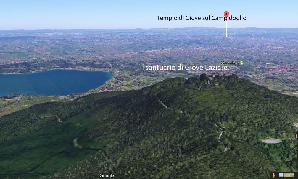 Il Santuario di Giove Laziare e il Trionfo albano.