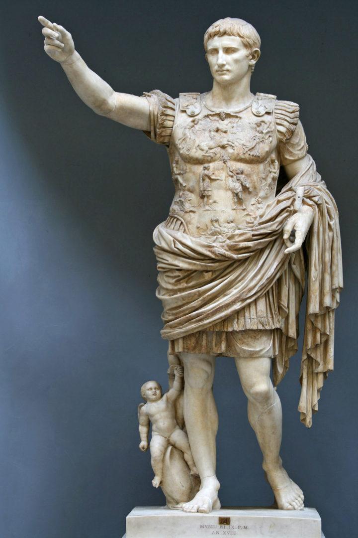 L'Augusto di Prima Porta.